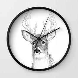 Just a deer Wall Clock