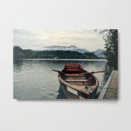 Tranquility in Slovenia Metal Print