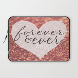Forever And Ever Amen. Laptop Sleeve