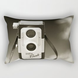 There was only me and my camera ... Rectangular Pillow