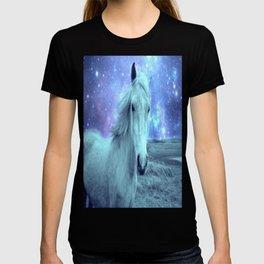 Celestial Dreams Horse Periwinkle Lavender Aqua T-shirt