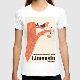 Prendre des vacances pour Limousin France. T-shirt