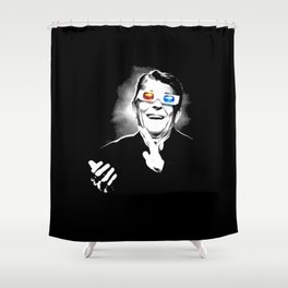 Reaganesque Shower Curtain