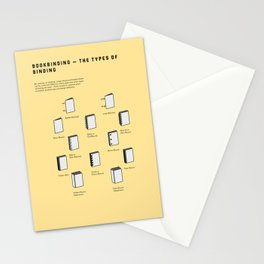 Bookbinding – The Types of Binding Stationery Cards