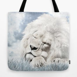 Barbary Lion Tote Bag