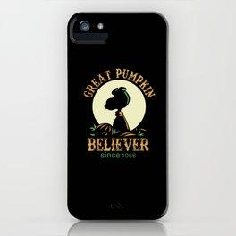 Great Pumpkin Believer iPhone Case
