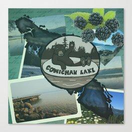 Cowichan Lake Canvas Print
