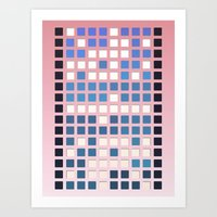 code Art Prints featuring Code by Bringerzl