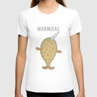 narwhal T-shirts featuring Narwhal by Carl Batterbee Illustration