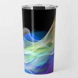 Color smoke. Travel Mug