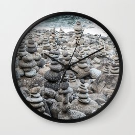 Balancing Rocks Wall Clock