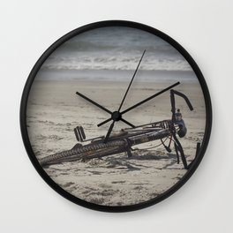Lost Bicycle Wall Clock