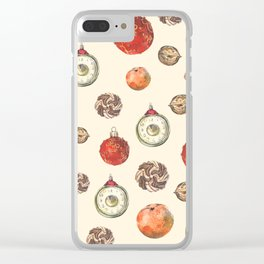 Christmas decorations Clear iPhone Case