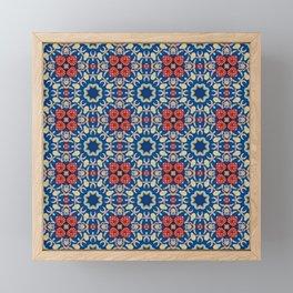 Romantic pattern Framed Mini Art Print