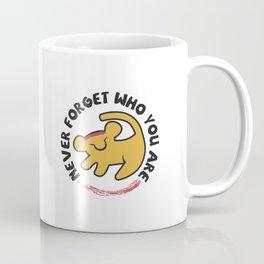 Never Forget Who You Are. Coffee Mug