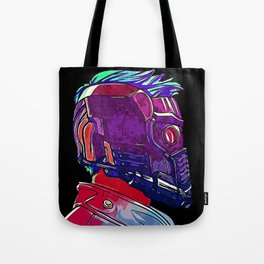 Star Lord Guardians of the Galaxy Avenger Infinity War Painting - Star-Lord Tote Bag