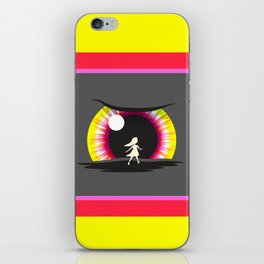 In the eye of the beholder iPhone Skin