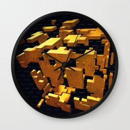 """Hello, I am Jarvis"" Wall Clock"