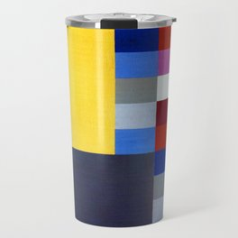 Sophie Taeuber Arp Vertical Horizontal Composition Travel Mug