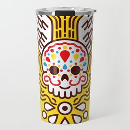 Minimal Skull Travel Mug