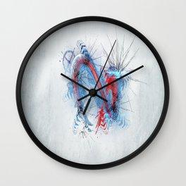 Fission world Wall Clock