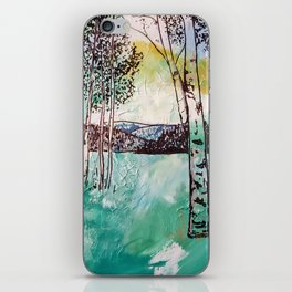 Rocky Mountain Aspen Trees iPhone Skin
