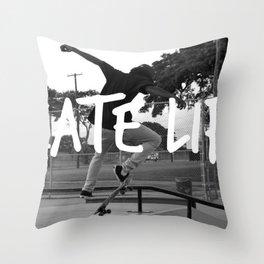 Skate Life Throw Pillow