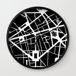 Madeleine-Opera-Vendome. Paris Wall Clock