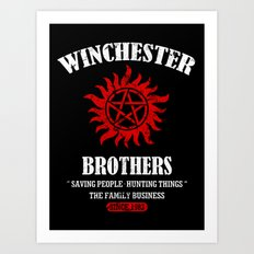 Winchester Brothers Art Print