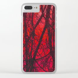 Connected Clear iPhone Case