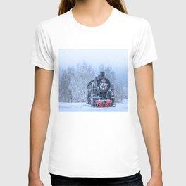 Time train T-shirt