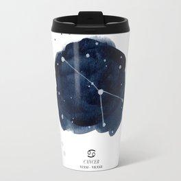 Zodiac Star Constellation - Cancer Travel Mug