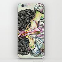 larry stylinson iPhone & iPod Skins featuring Larry by Peek At My Dreams