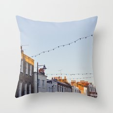 London houses Throw Pillow