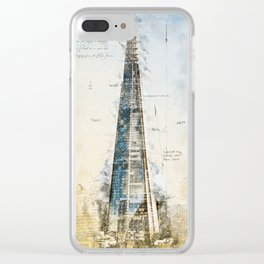The Shard, London England Clear iPhone Case