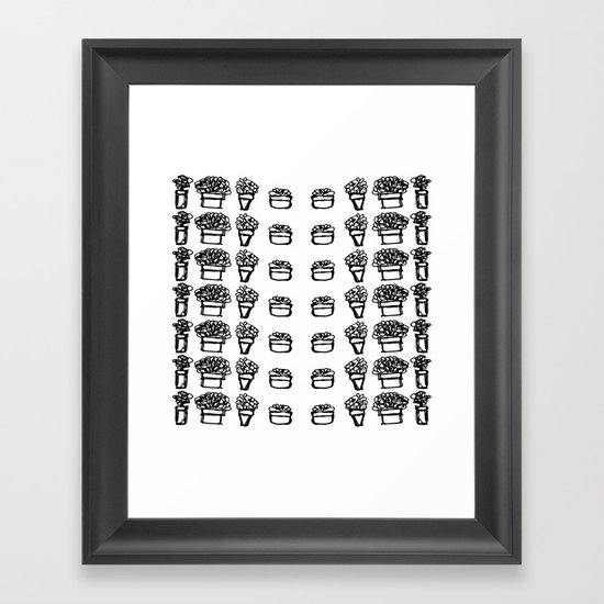 little friends Framed Art Print