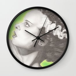 The Bride of Frankenstein  Wall Clock