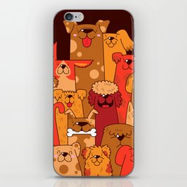 Pile of Woofs iPhone Skin