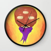 ohm Wall Clocks featuring ohm by Jamie Ross