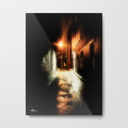 Midnight Alley Metal Print