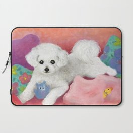 TERRE-LOVE-Oil Laptop Sleeve