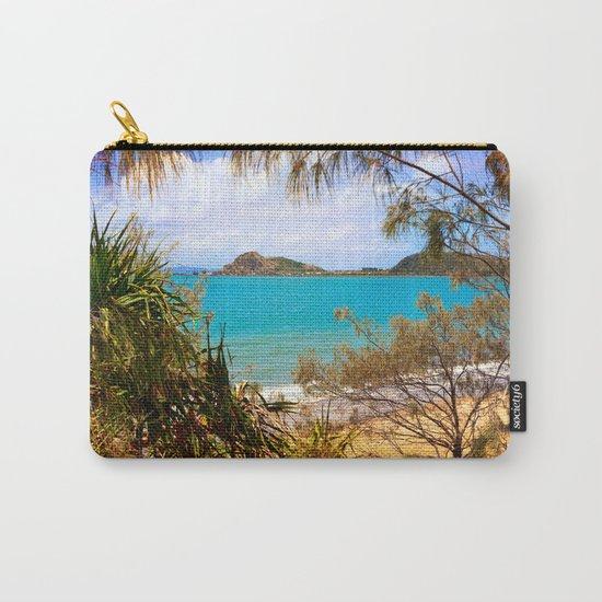Idyllic Coastal View Carry-All Pouch