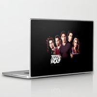 teen wolf Laptop & iPad Skins featuring teen wolf by kikabarros