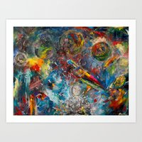 Unmitigated Chaos Art Print