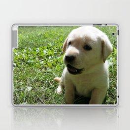 Gggrrr Yellow lab puppy Laptop & iPad Skin