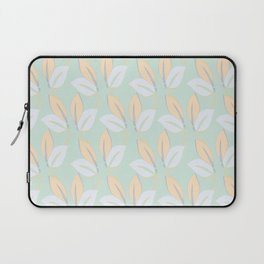 Classic leaves in green Laptop Sleeve