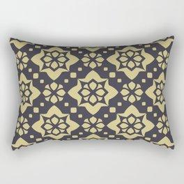Abstract geometric Pattern 89 Rectangular Pillow