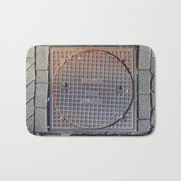manhole Amsterdam Bath Mat