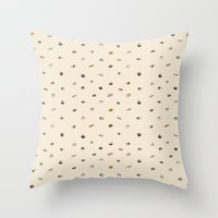 sushi Throw Pillows featuring Sushi  by Thewilson