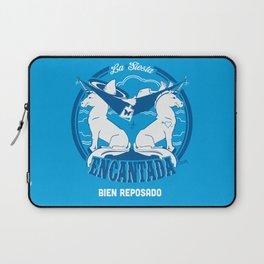La Siesta Encantada, Bien Reposado • The Best Tequila TShirt! Laptop Sleeve
